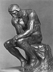 Fig. 3 - The Thinker