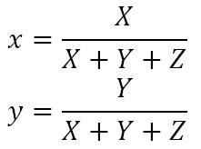 Chromaticity equations