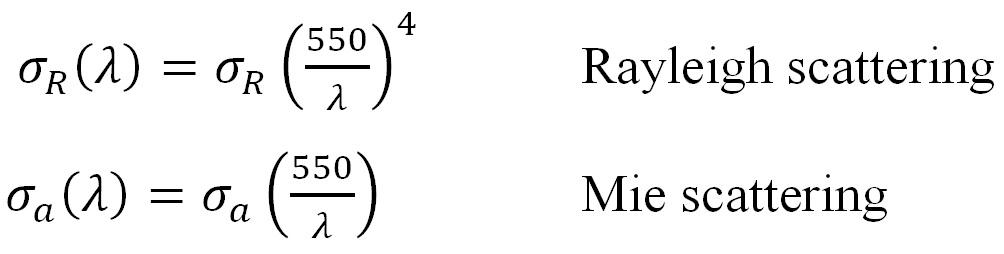 Color Temperature - EQN. 1