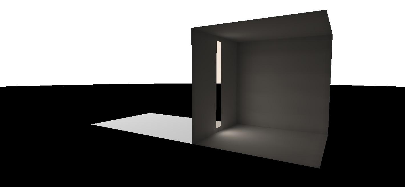 FIG. 16 – Virtual cameras on windows eliminates light spokes.