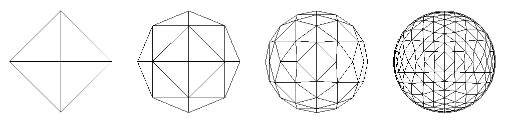 FIG. 13 – Octahedron subdivision