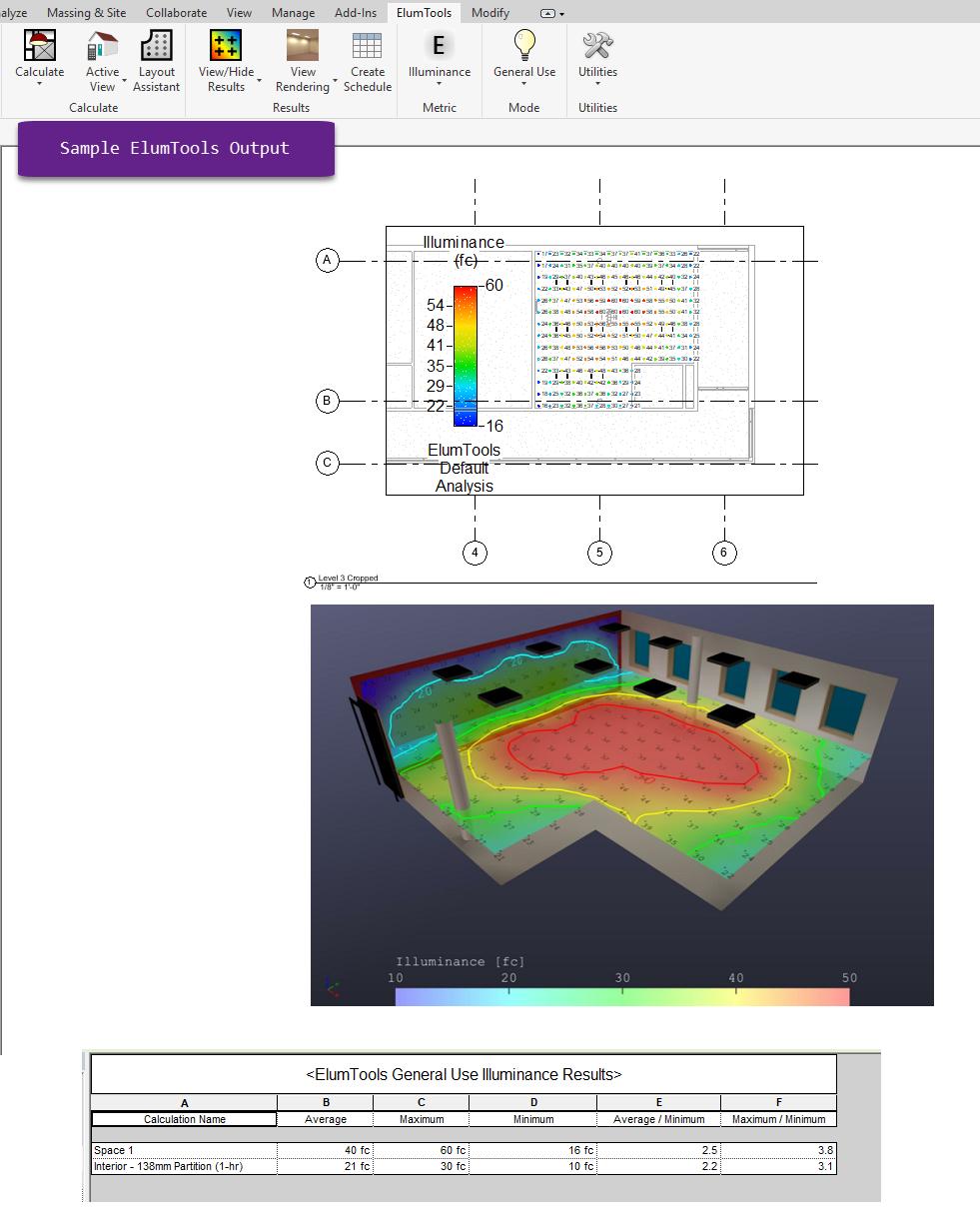 Lighting in ElumTools vs  Lighting in Revit | Lighting Analysts